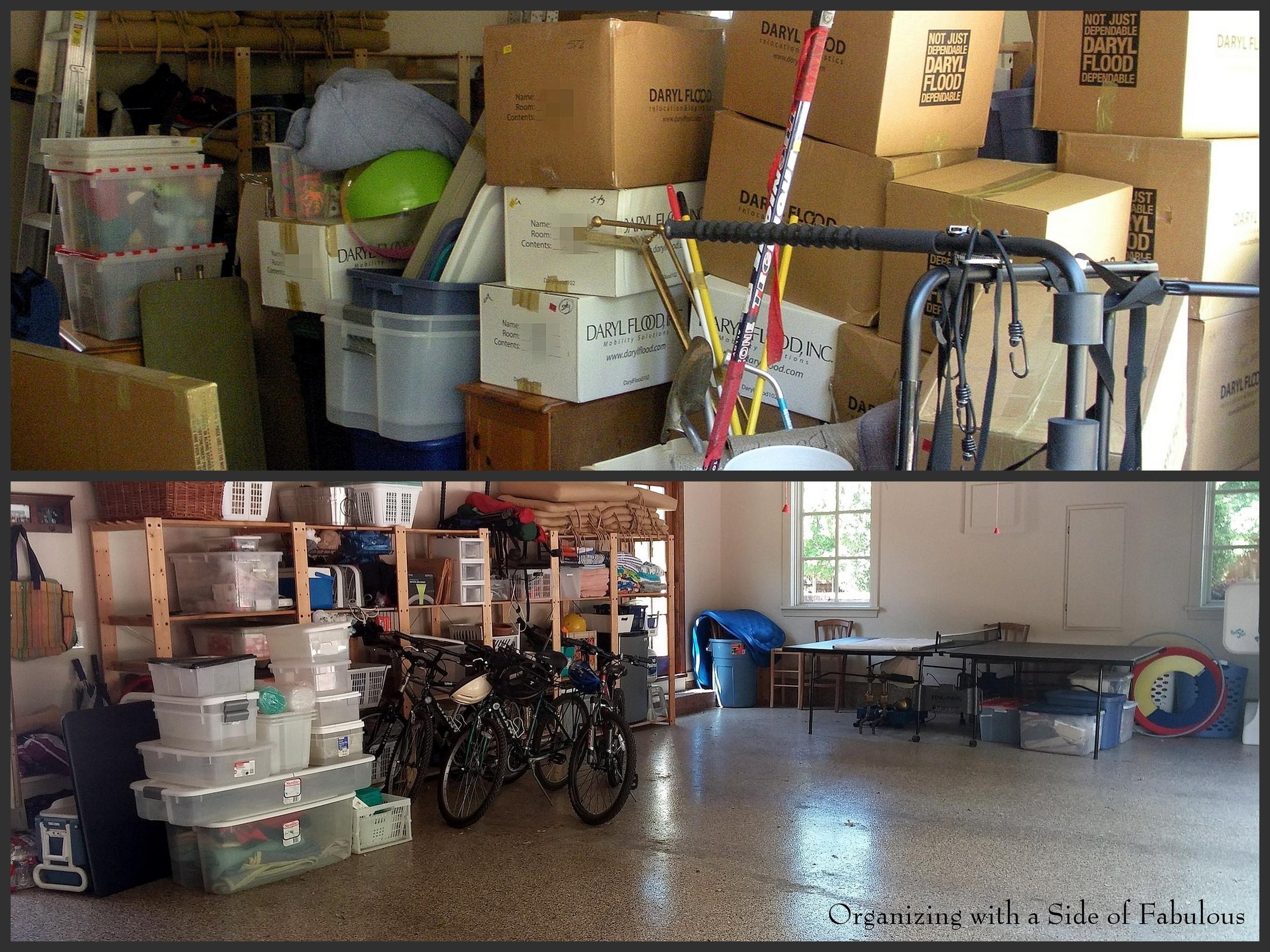 Garage Organization - Organizing with a Side of Fabulous Blog