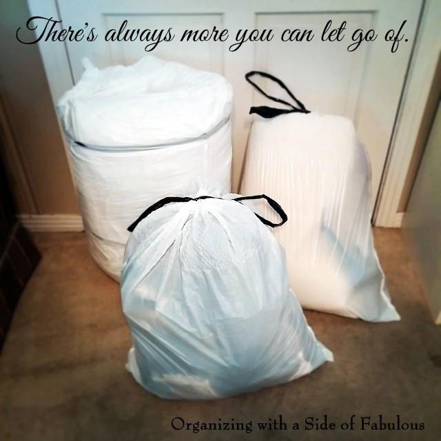 There's Always More You Can Let Go Of. - Organizing with a Side of Fabulous Blog