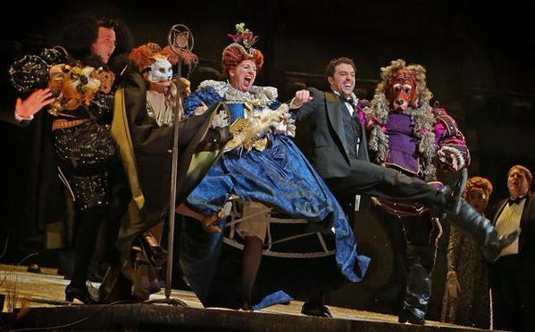 Fort Worth Opera's Hamlet performed at Bass Hall, May 2015. Photo credit: Paul Mosely via Star Telegram