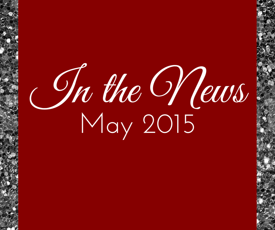 In the News May 2015 - Organizing with a Side of Fabulous Blog