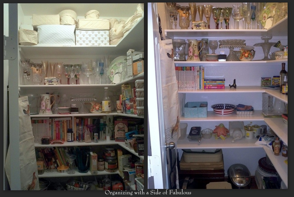 Makeover: Packed Pantry - Organizing with a Side of Fabulous Blog