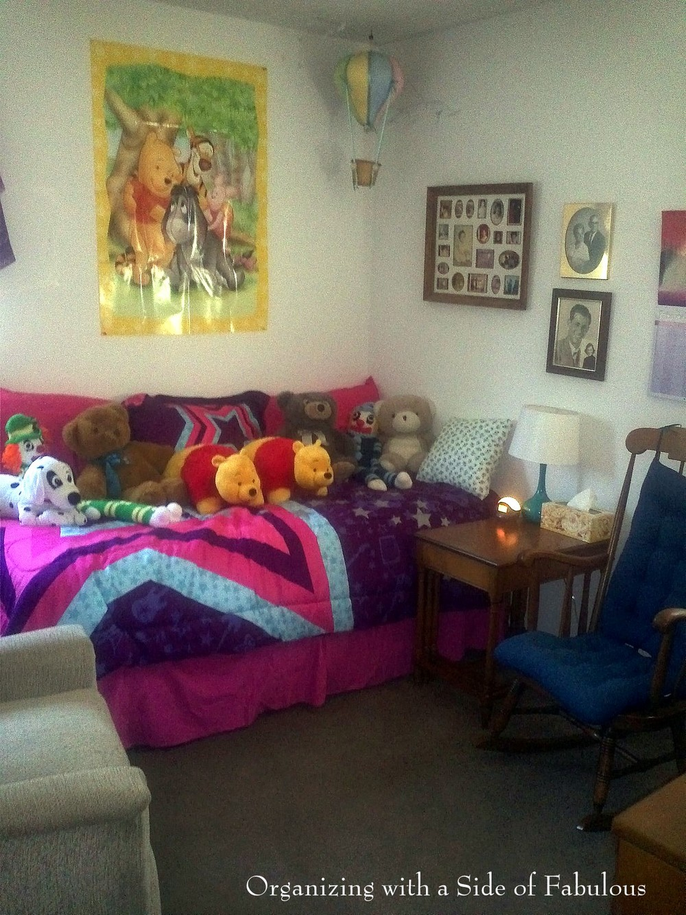 Makeover: Becoming the Happy Room - Organizing with a Side of Fabulous Blog