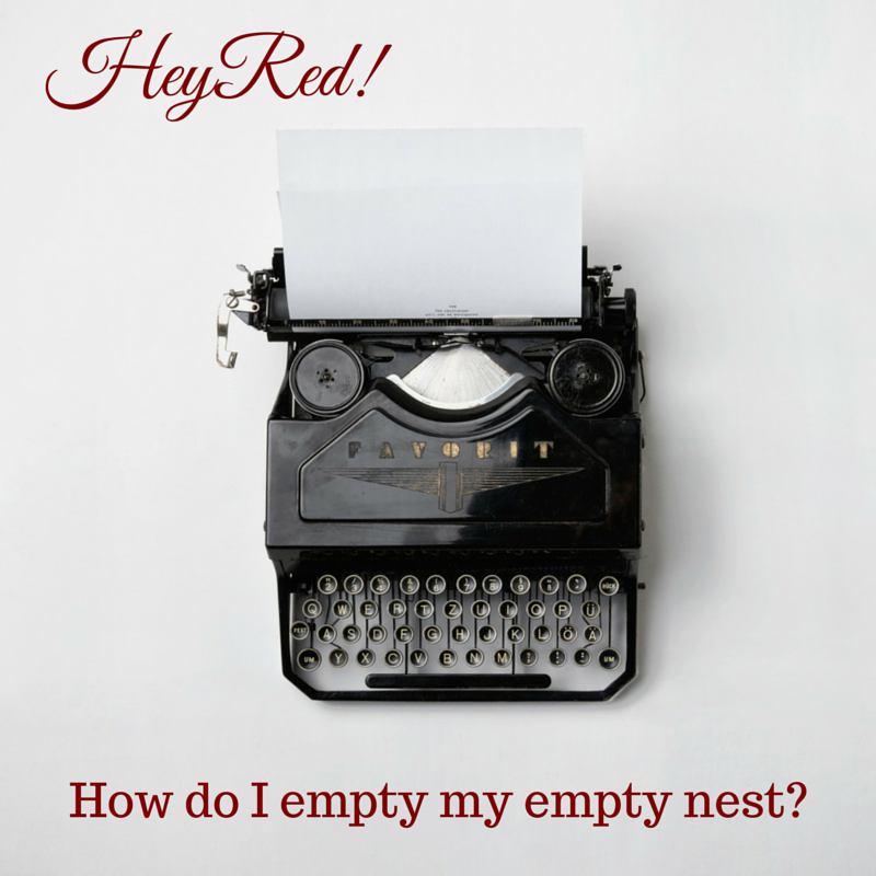 Hey Red! How do I empty my empty nest? - Organizing with a Side of Fabulous Blog