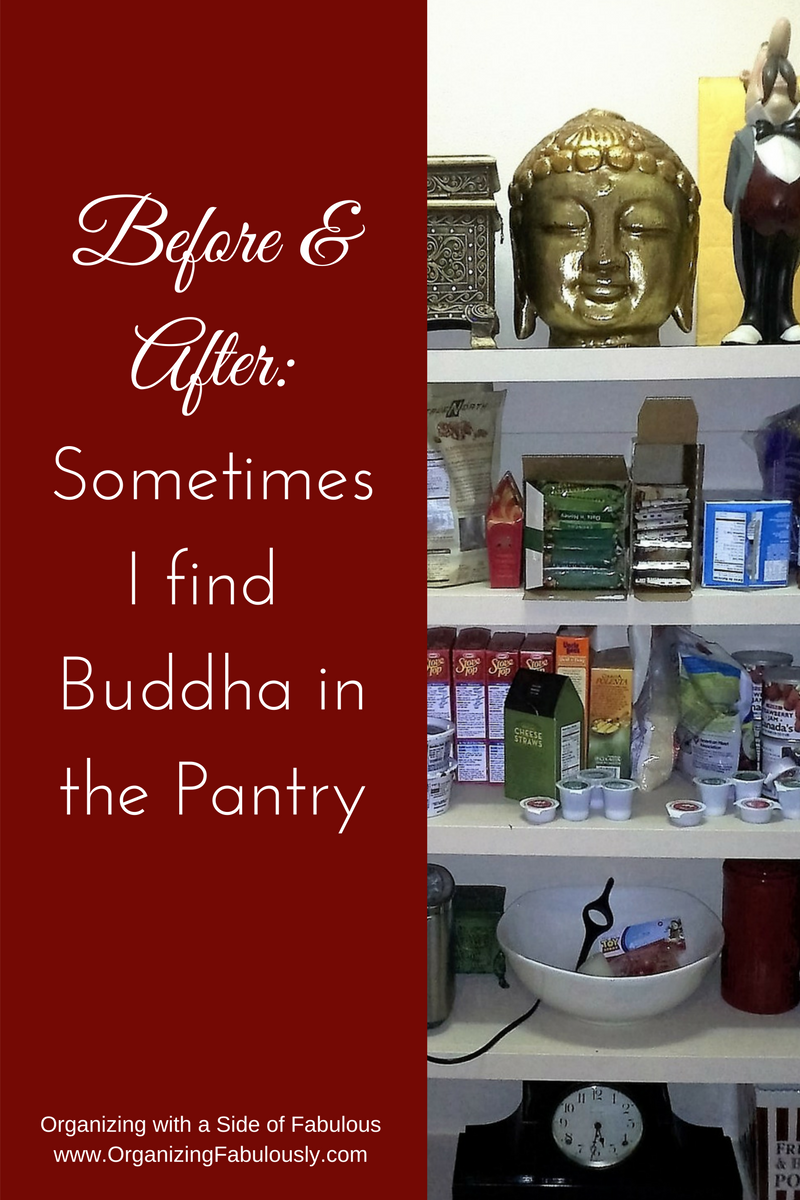 Pantry makeover - Organizing with a Side of Fabulous