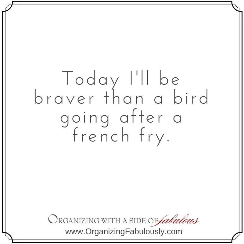 Brave Bird - Organizing with a Side of Fabulous