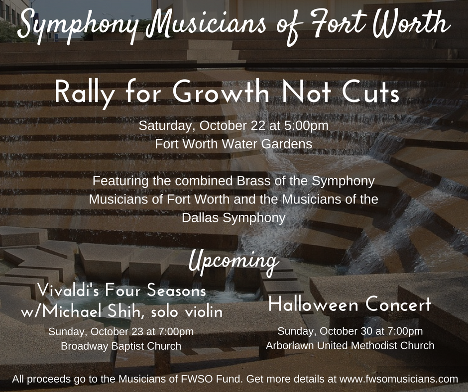 Copy of Copy of Symphony Musicians of Fort Worth Concert Poster Designed by A Side of Fabulous