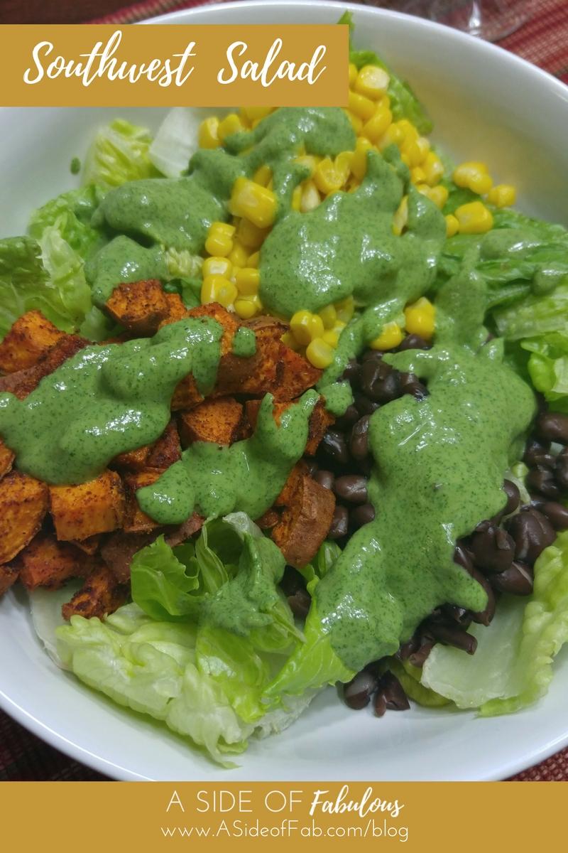 Southwest Salad - A Side of Fabulous Blog