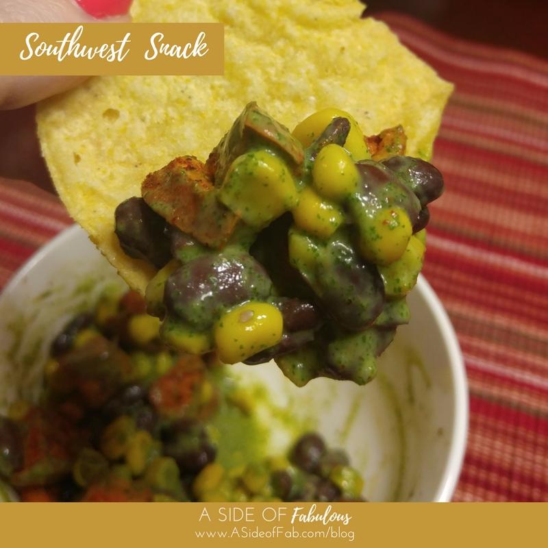 Southwest Snack -  A  Side of Fabulous Blog