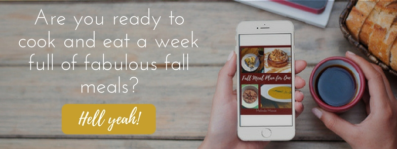Fall Meal Plan - A Side of Fabulous Blog