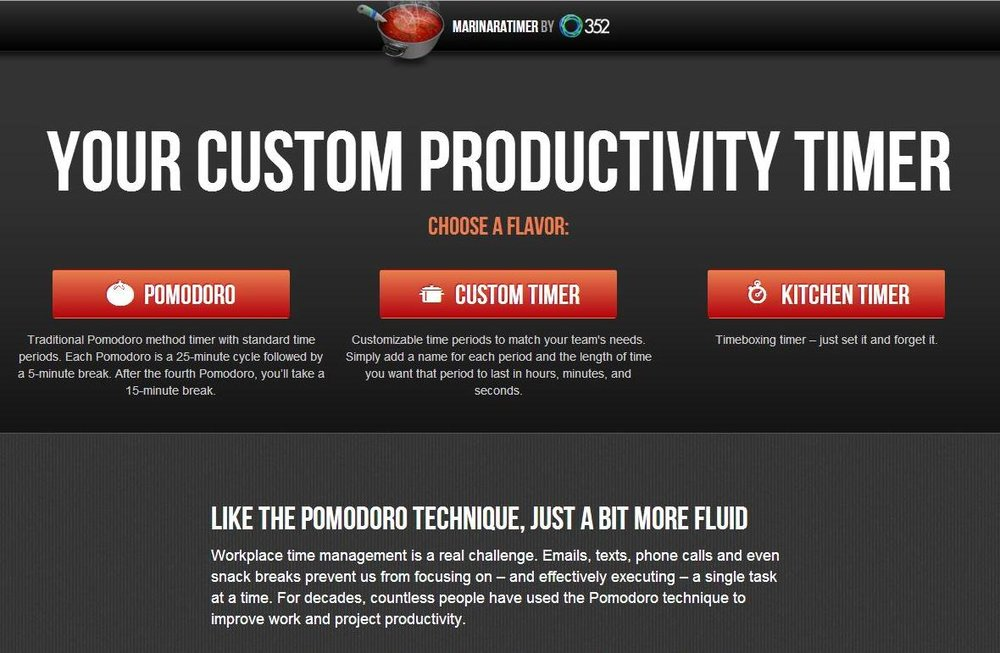 Using the Marinara Timer for Productivity - A Side of Fabulous Blog