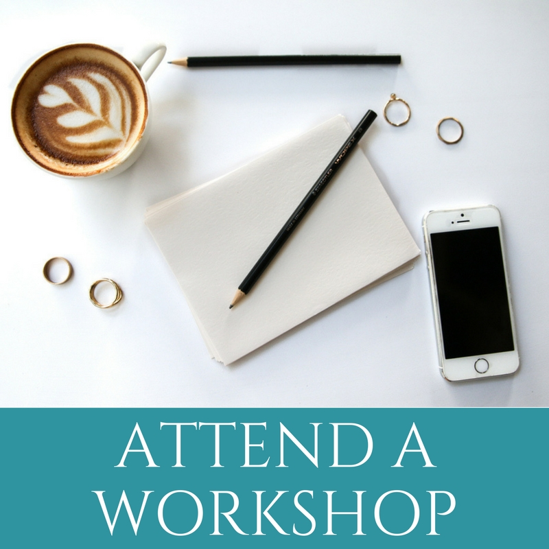Attend A Workshop by Melinda