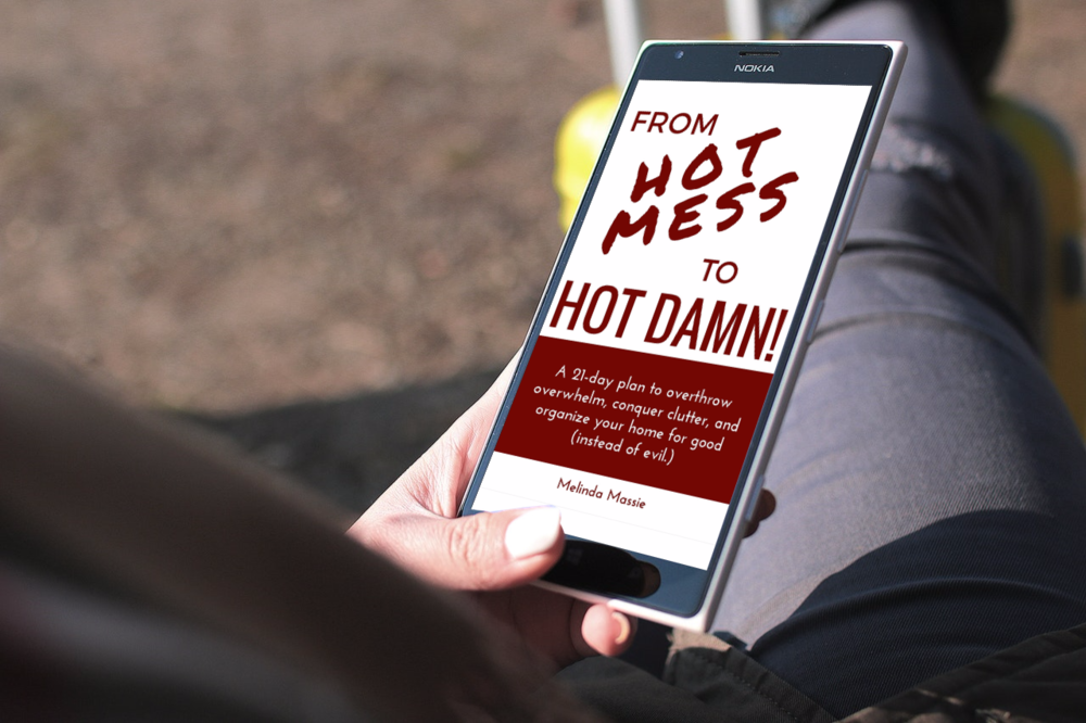 Ready to tame your hot mess once and for all?  Buy From Hot Mess to Hot Damn! today! -