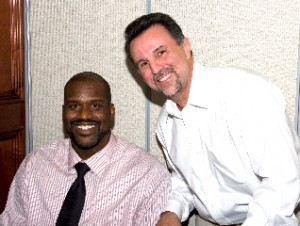 Dr. John Schilero and NBA Superstar Shaquille O' Neal