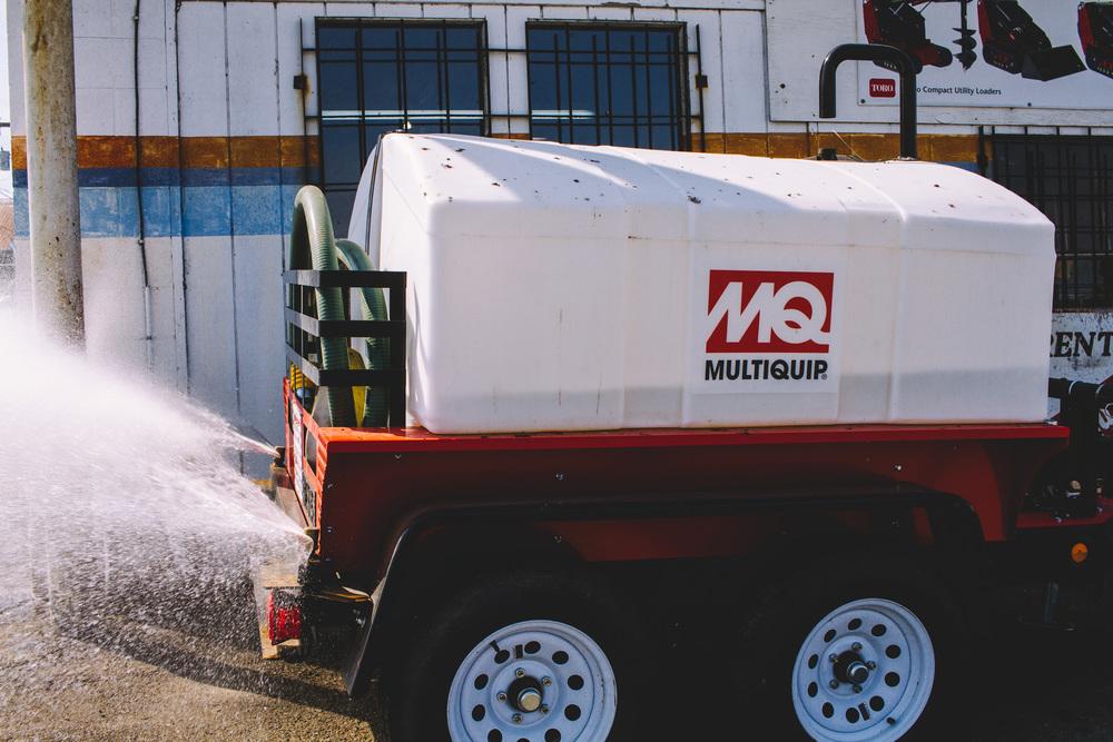 500 Gallon Water Wagon