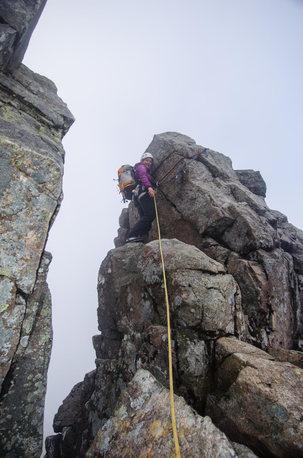 Descending into Tower Gap