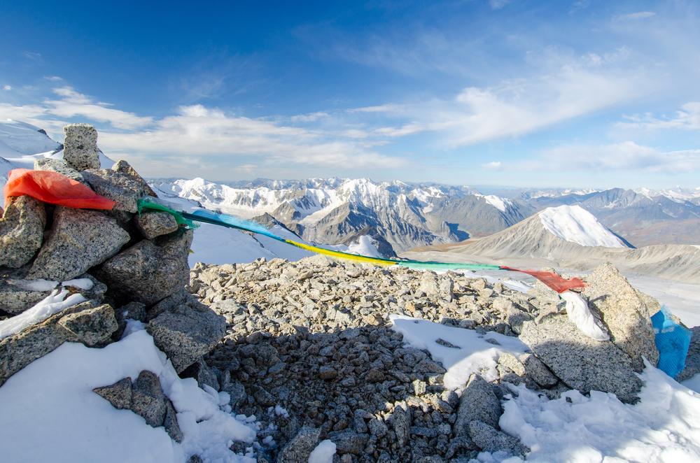 Views into China from Nairamdal Peak