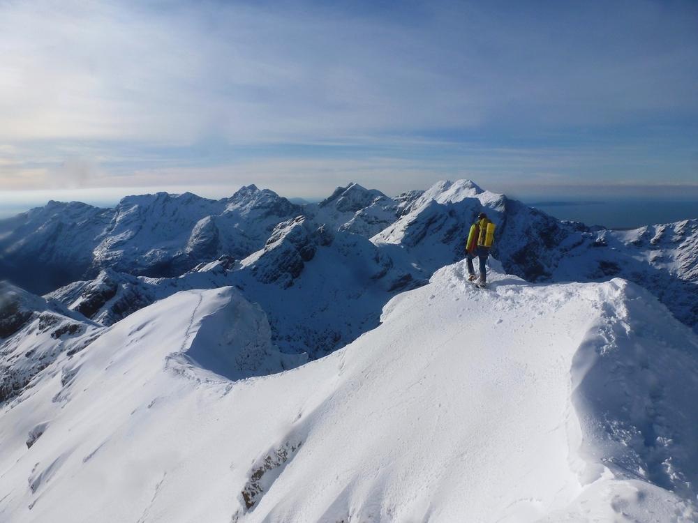 Alpine conditions in Scotland!