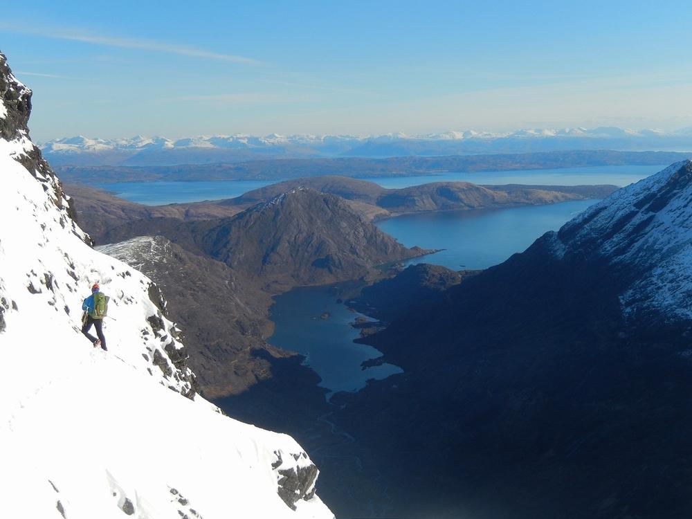 Stunning views down to Loch Coruisk