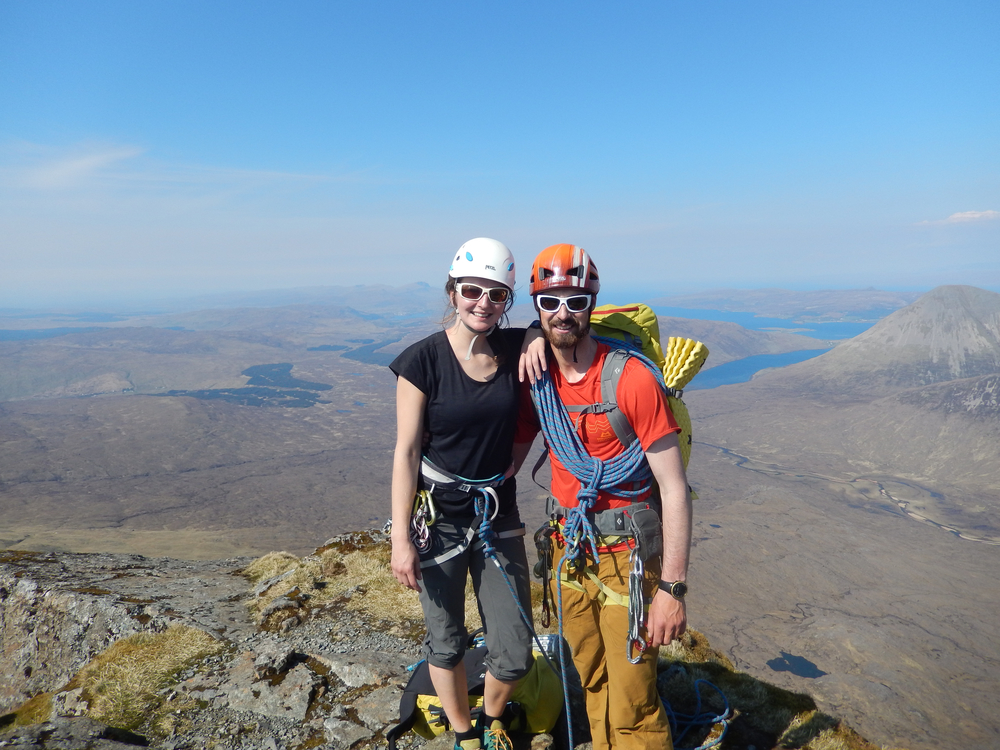 Top of the final summit - Sgurr nan Gillean