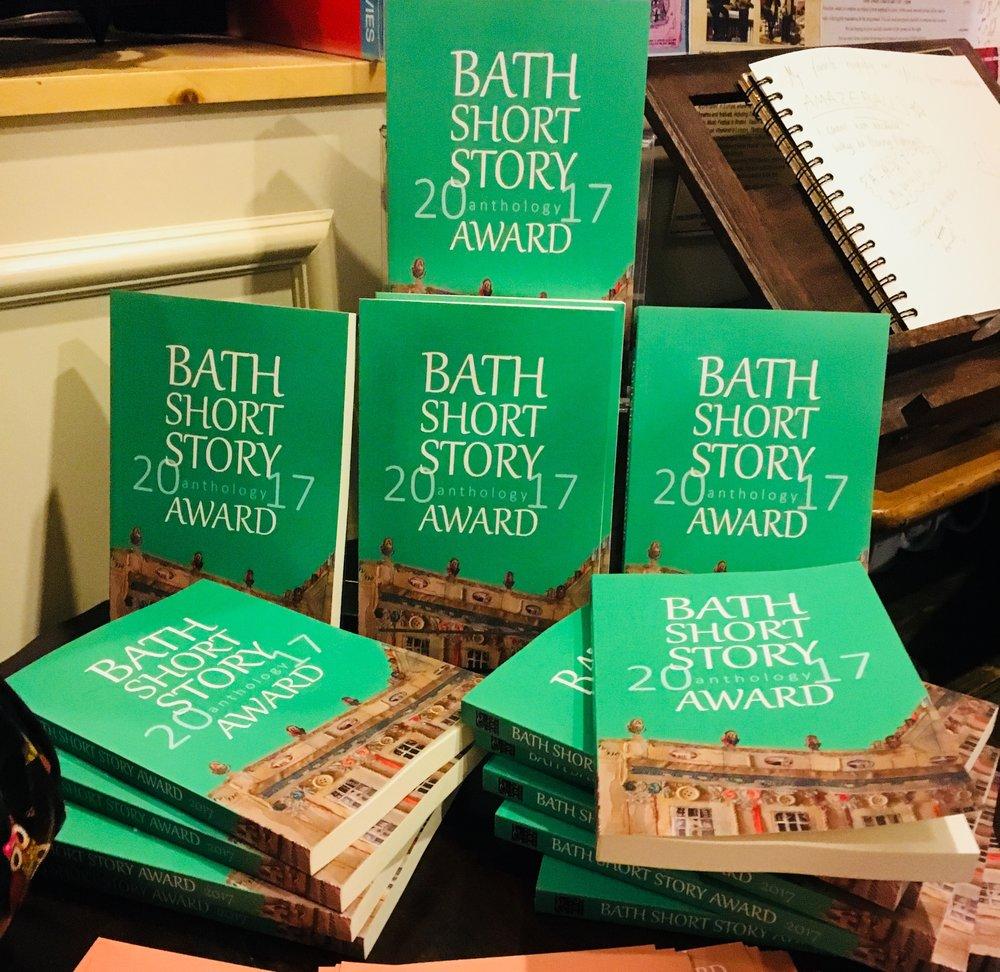 The Bath Short Story Award 2017 anthology - just published