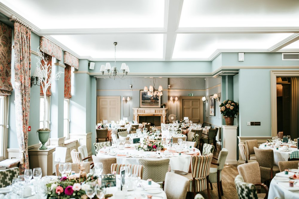 Washingborough Hall - Elegant autumnal wedding reception.
