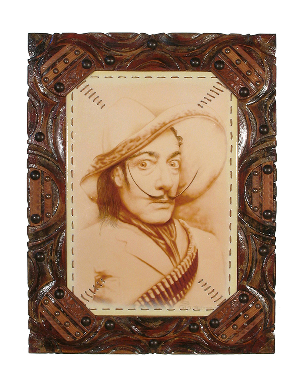Portrait Of Salvador Dali In Santa Fe