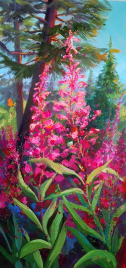 Fireweed Forest by Jennifer Bowman