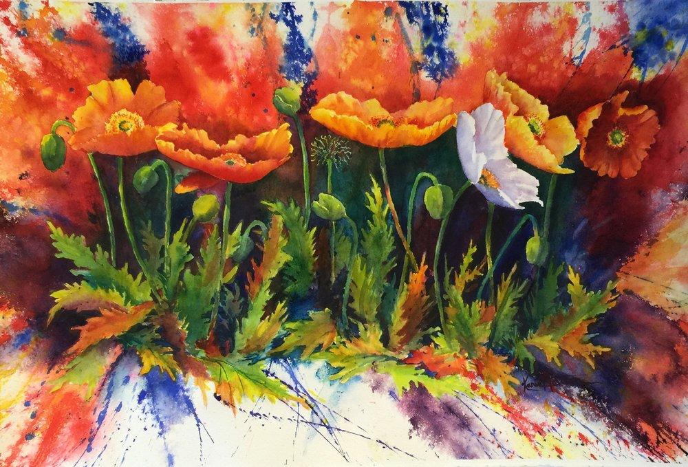Poppy Chaos by Karen Mattson