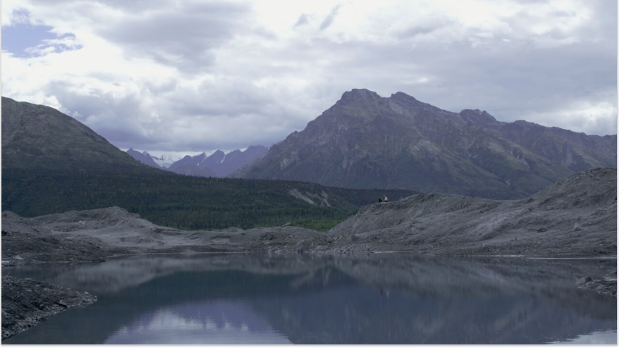 Working near the Matanuska Glacier.