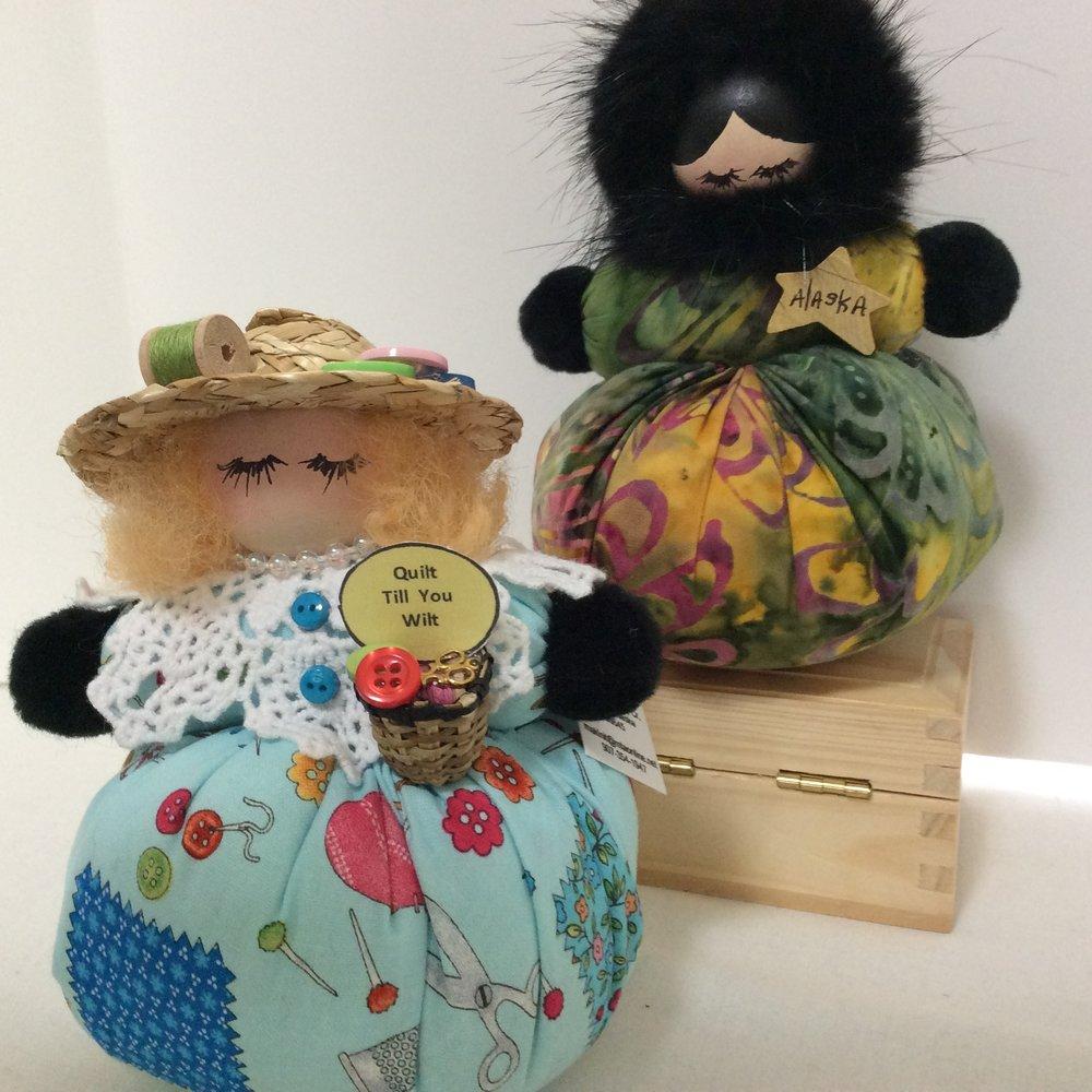 Shelf-Sitting Dolls