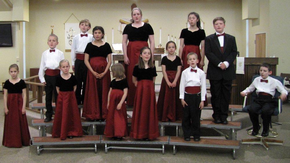 Dress Rehearsal at St. John Lutheran Church, May 6, 2017