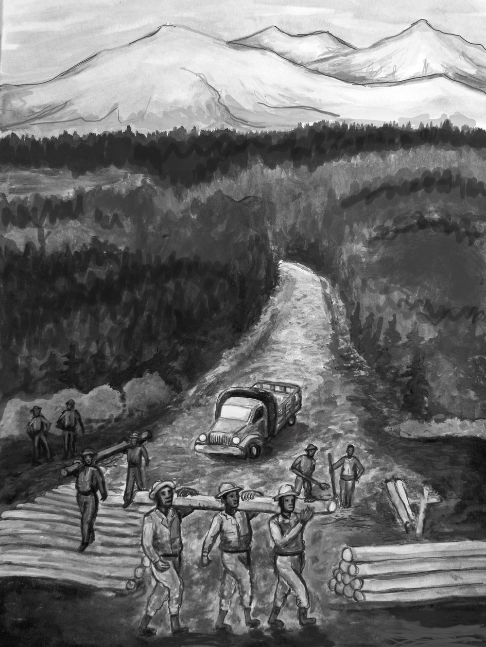 VETERANS - Black History Month Black Soldiers Played A Major Role In Building The Alaska Highway 1.jpg