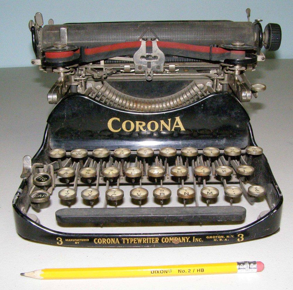MAS - Artifact of the Month - CORONA #3 Typewriter (1) WEB.jpg