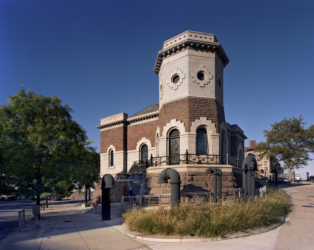 DuBois Gatehouse Morning Tower.jpg