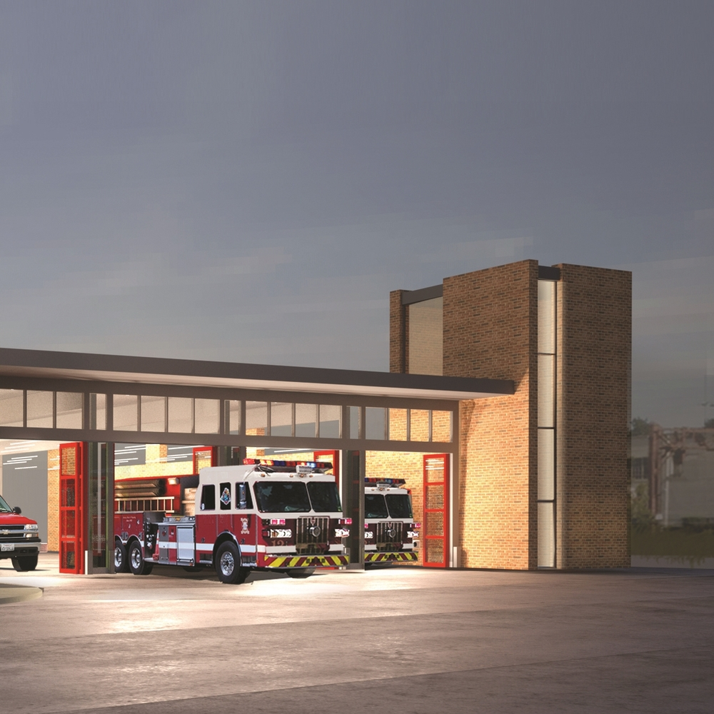 Summit Fire Station, New Jersey