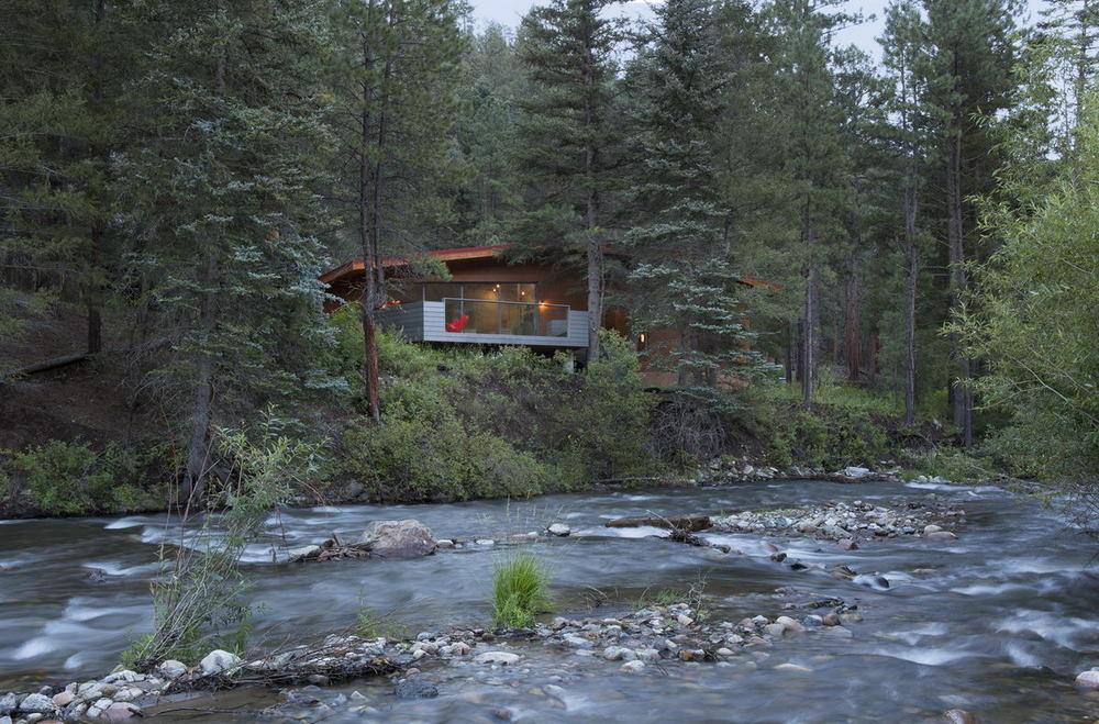 Cabin overlooking Pecos River