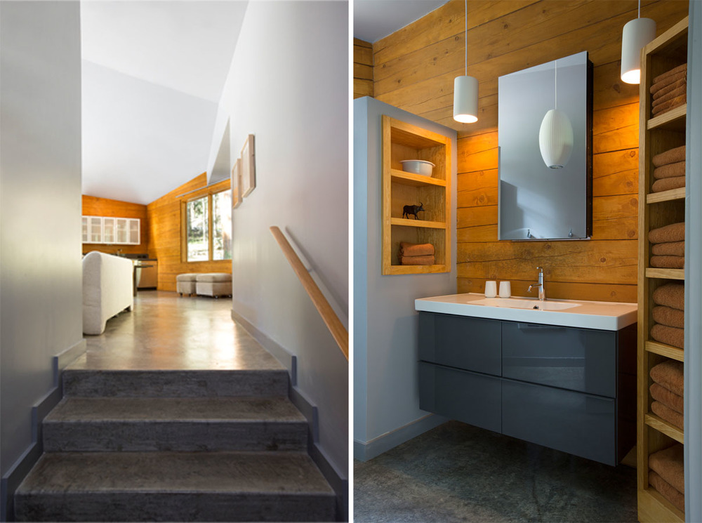 Stair and Bathroom