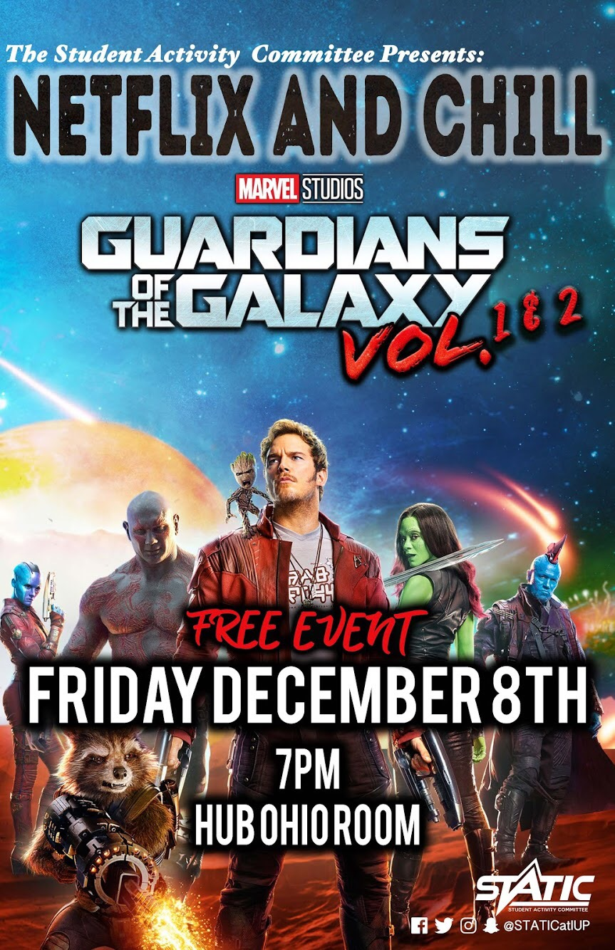 Netflix & Chill Movie Night: Guardians of the Galaxy Volume