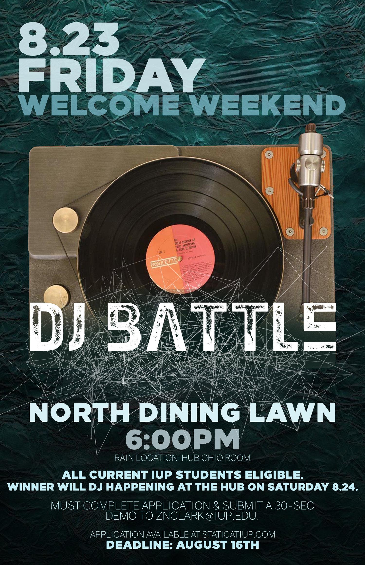 DJ Battle 2019 — STATIC at IUP