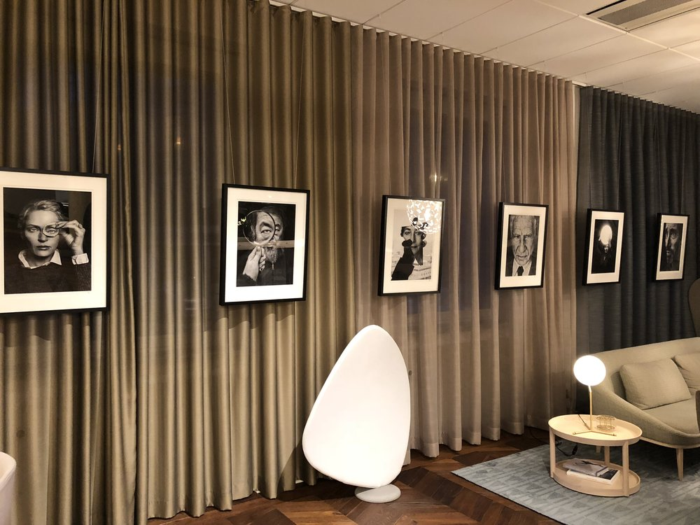 Collaborations with OFFECCT in one of their showrooms in Gothenburg
