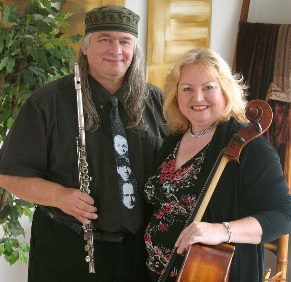 Mu Zette - Flute, Cello,and Guitar! Irish folk, some traditional thrown in with originals! Jazz and classical fusion. Something for everyone!Read More