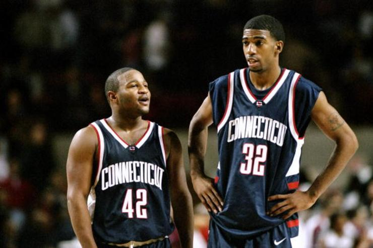 Thank you to these Khalid El-Amin (42) and Rip Hamilton (32) for allowing 9-year-old me to spend a week in Florida staring at a GameBoy screen, desperately trying to Catch 'Em All…