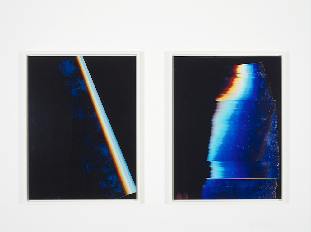 Fried Sensor, 2015     Glossy digital c-prints mounted on plexi     40x30 inches