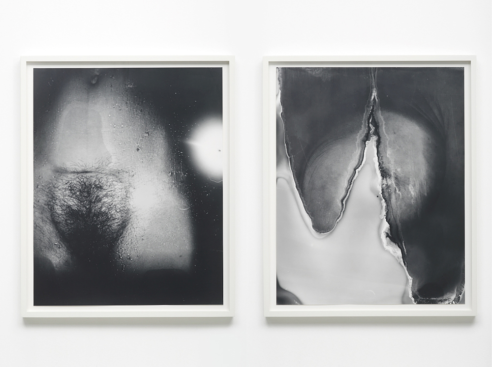 Good Enough, 2015     Gelatin silver prints hinged on museum board      30 x 24 inches each (diptych)