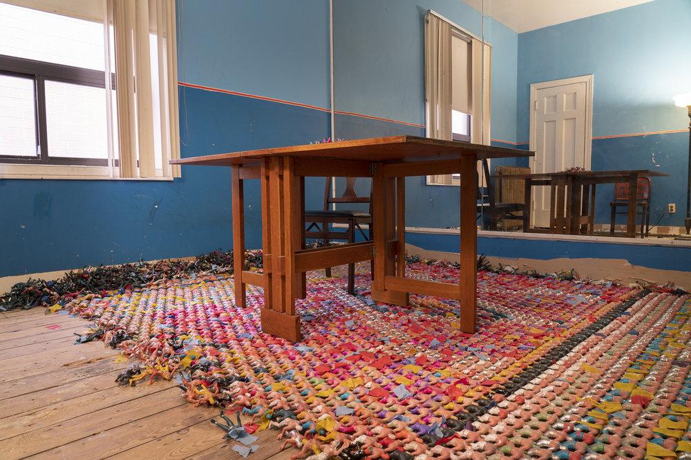 Floor piece (6018North)  by Óscar I González Díaz