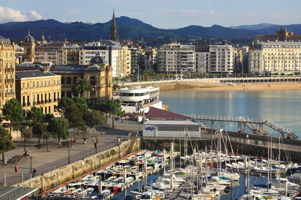 San Sebastián harbour