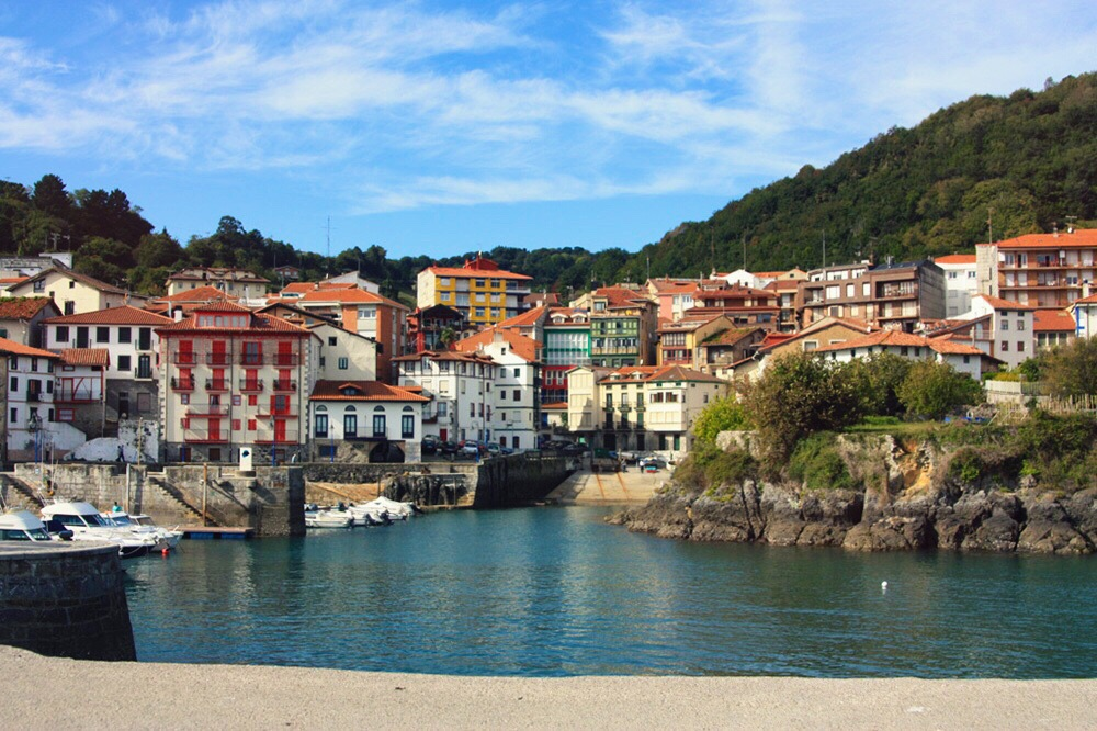 Mundaka harbour