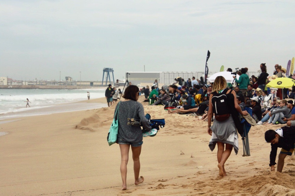 World surf league competition