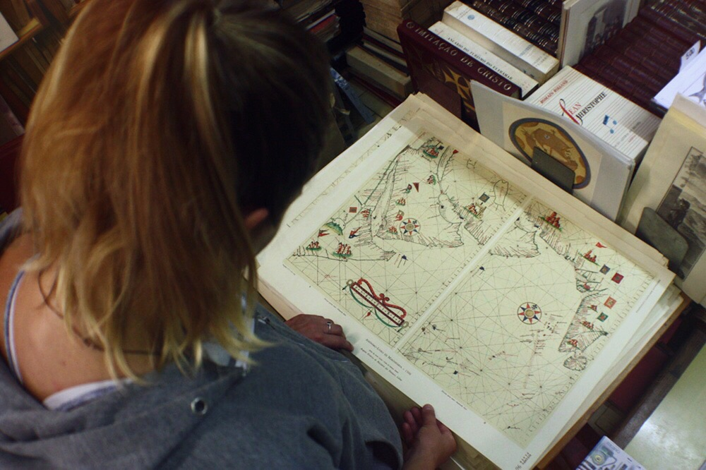 Shopping for old maps