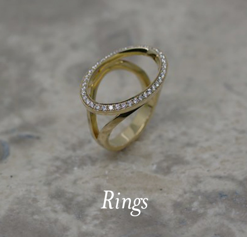 Oval Outline ring